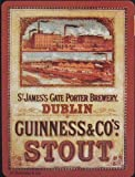 Guinness ''Dublin Brewery'' steel fridge magnet