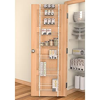 Panacea Grayline Back-of-The-Door Organizer, White