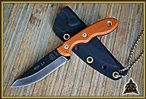 TOPS Mini Scandi 2.5 Neck Knife Designed by Leo Espinoza