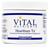 Vital Nutrients - Heartburn TX - For Relief of Occasional Heartburn and Indigestion - 218 Grams