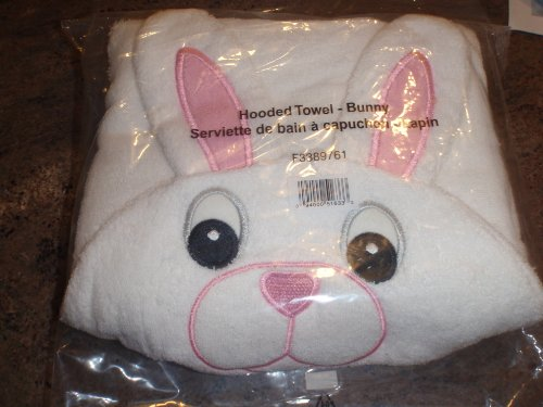 Avon Bunny Rabbit Towel Hooded Great Easter Basket Gift