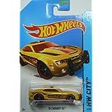 Hot Wheels 2014 Hw City Yellow 10 Camaro SS 42/250 - Fire Department