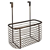 InterDesign Axis Over the Cabinet, X7 Basket, Bronze