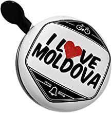 Bicycle Bell I Love Moldova by NEONBLOND