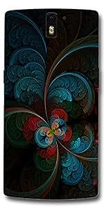 SEI HEI KI Designer Back Cover For OnePlus One - Multicolor