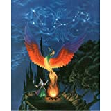 (16x20) Sue Dawe Wizard Fire Phoenix Animal Art Print POSTER ~ Poster Revolution