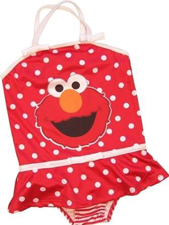 Amazon Sesame Street Elmo Toddler Girls e Piece