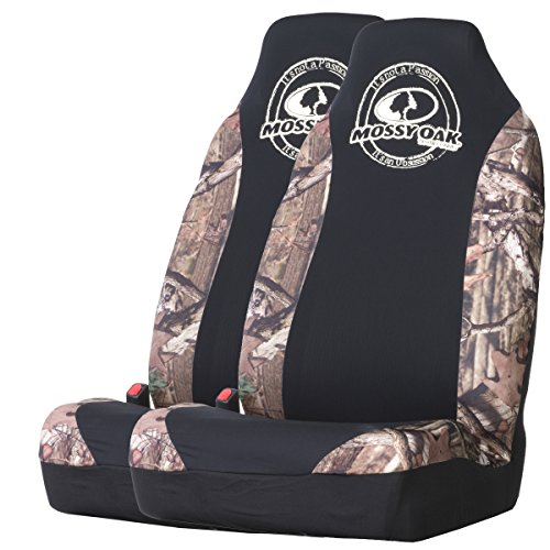Mossy Oak Camo Spandex Seat Cover (Mossy Oak Infinity Camo, Set of 2) (Camouflage Truck Seat Covers compare prices)