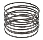 Hematite Intertwined Spring Style Bangle Bracelet