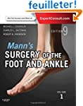 Mann's Surgery of the Foot and Ankle,...