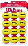 Wilson Starter Easy Balles de tennis enfant Rouge/jaune
