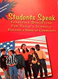 img - for Students Speak: Effective Discipline For Today's Schools Building a Sense of Community book / textbook / text book