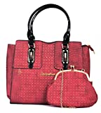 Vogue Nation Imported Red Crocodile Printed Handbag