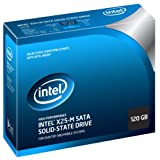 Intel X25-M 120 GB Solid State Drive with Internal SATA and Power Cables MLC Flash Technology, 2.5-Inch Form Factor ~ Intel