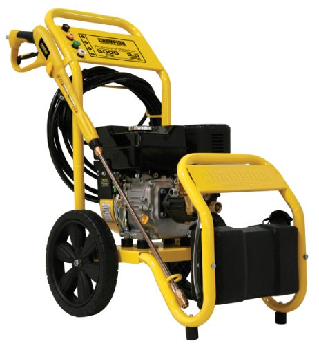 Champion Power Equipment 3000 Psi Carb - Compliant Pressure Washer With Wheel Kit