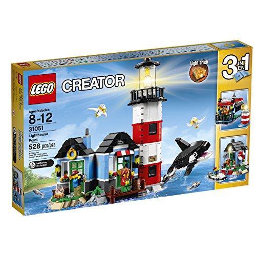 LEGO-Creator-31051-Lighthouse-Point-Building-Kit-528-Piece
