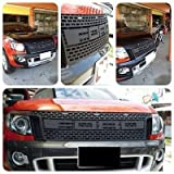 Raptor Front Grill Grille Awesome Black Lit New Ford Ranger T6 Xlt Px Wildtrak Ute 12 13 14 Pick Up