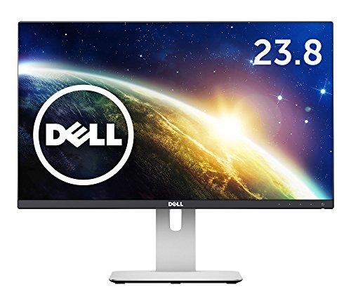 Dell 23.8型 ワイド液晶ディスプレイ 極薄ベゼル 双方向回転 Uシリーズ (1920x1080/IPS非光沢液晶/8ms/ブラック) U2414H