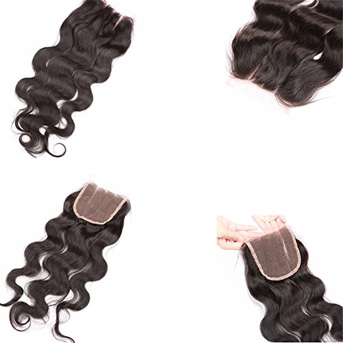 E-forest-hair-7A-Virgin-100-Brazilian-Remy-Human-Hair-3-Way-Part-Body-Wave-44-Top-Lace-Closure-Natural-Black-10-inch130-Density-Baby-Hair-Bleached-Knots-Wsd-02