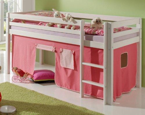 hochbett vorh nge. Black Bedroom Furniture Sets. Home Design Ideas