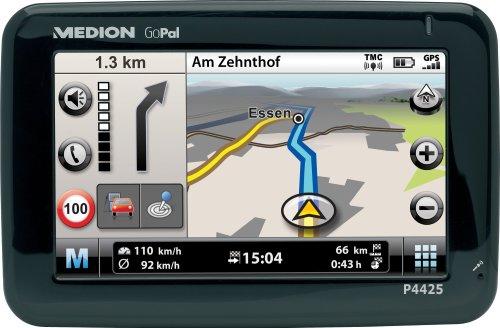 Medion P4425 PNA Navigationssystem komplett Europa,