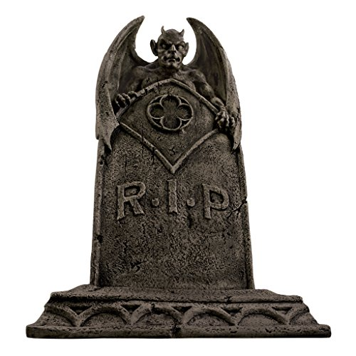The Vampire Demon Tombstone Statue