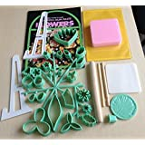 32 Pcs Gumpaste Flower Cutter Set, Fondant,Cake Decorative Accessories