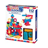 Battat Bristle Blocks Basic 112 Piece Set Building Kit
