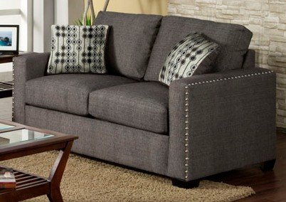 Wolver Love Seat with Pillows by Furniture of America