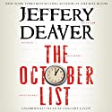 The October List (       UNABRIDGED) by Jeffery Deaver Narrated by January LaVoy