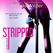 Stripped (       UNABRIDGED) by Jasinda Wilder Narrated by Summer Roberts