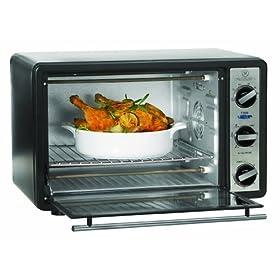 Sensio 13348 Bella Cucina 1500-Watt 6-Slice Toaster Oven/Broiler