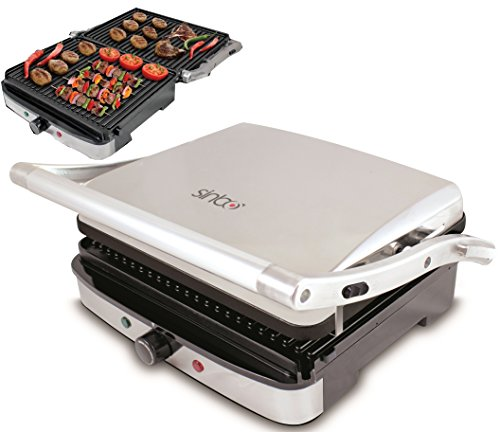 profi kontaktgrill elektrogrill sandwichtoaster 180. Black Bedroom Furniture Sets. Home Design Ideas