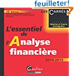 L'essentiel de l'analyse financi�re 2...