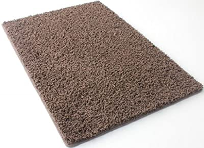 """Brownie 25 oz Face Weight. 1/2"""" Thick. Frieze Area Rug Carpet. MULTIPLE SIZES, SHAPES and COLORS TO CHOOSE FROM. Home area rugs, runner, rectangle, square, oval and round."""
