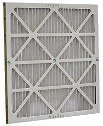 Glasfloss Industries ZLP16244 Z-Line Series ZL MERV 10 Pleated Filter, 6-Case