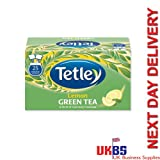 Tetley Green Tea with Lemon Envelopes 6 x 25