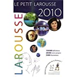 Petit Larousse Illustre 2010 Edition Grand Format (larger print) (French Edition) (0320079546) by Larousse