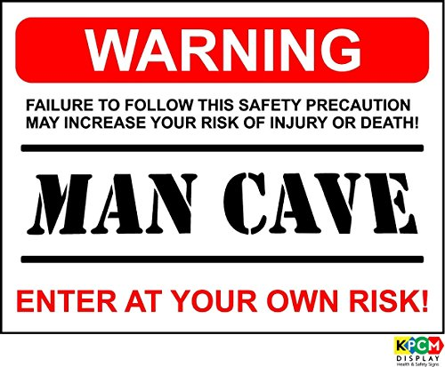 funny-sign-warning-man-cave-present-house-husband-boyfriend-son-dad-12mm-rigid-plastic-200mm-x-150mm