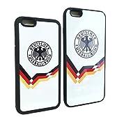Germany ドイツ代表 (GER) iPhone6 / 6S / 6Plus / 6SPlus 対応 ケース カバー 高品質 薄型 耐衝撃・滑り止め サイドTPU仕様【液晶保護フィルム付】