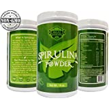 Top Rated Spirulina Powder (1 Pound): California Grown, Non-GMO, Unrivaled Taste, 100% Made in USA, Completely Raw & Vegan Friendly By Maju Superfoods