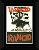 Rancid - And Out come The Wolves Framed and Mounted Print - 14.4x9.2cm