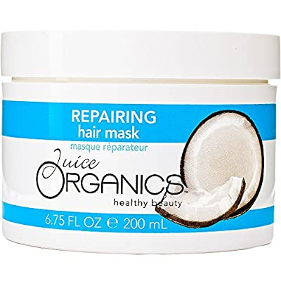 Juice Organics Repairing Hair Mask, Coconut, 6.75 fl. oz.