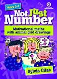 img - for Not Just Number: Motivational Maths with Animal Grid Drawings book / textbook / text book