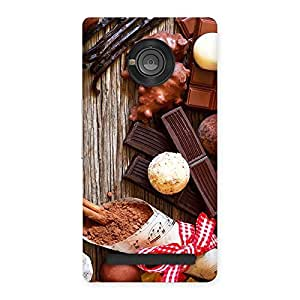 Enticing Chocolate Candies Multicolor Back Case Cover for Yu Yunique
