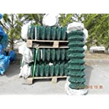 5ft (1500) 25mtrs - PVC Coated Chainlink Fencing c/w Line Wires - Free Delivery