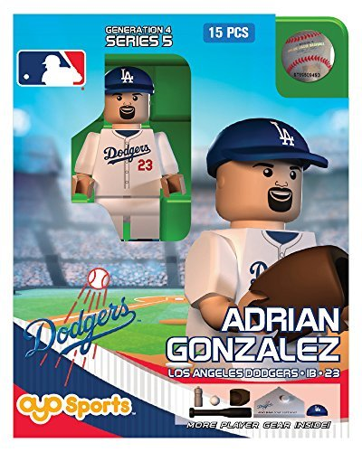 Adrian Gonzalez OYO MLB Los Angeles Dodgers G4 Series 5 Mini Figure Limited Edition