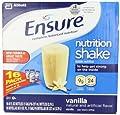 Ensure Bottles, Vanilla Shake, 8oz Bottles, 32 Bottles from Ensure