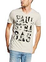 PAUL STRAGAS Camiseta Manga Corta (Beige)