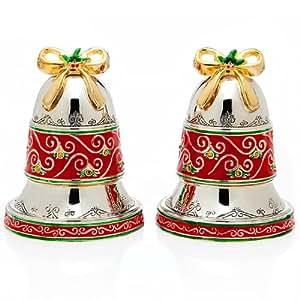 Godinger Bell Salt And Pepper Shakers Salt